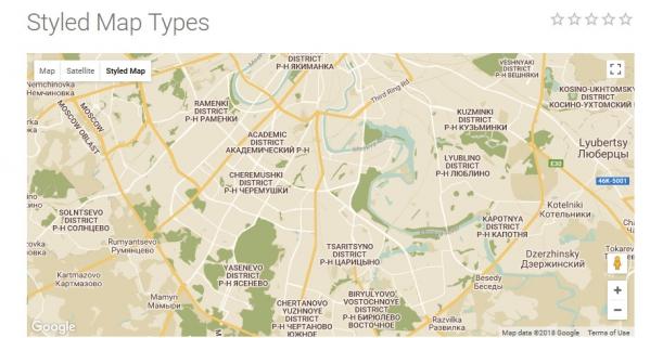Как вставить карту google на сайт